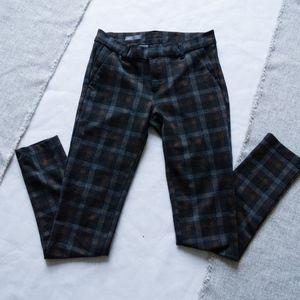 Kut From The Kloth Diana Skinny Plaid Dress Pants